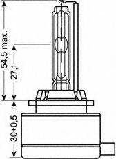 D1R OSRAM D1R (Gasentladungslampe) 85V 35W PK32d-3 Glühlampe, Fernscheinwerfer 66154 günstig kaufen