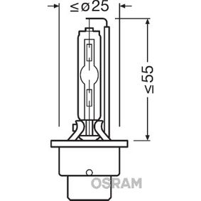 66240 Lemputė, prožektorius OSRAM - Pigus kokybiški produktai