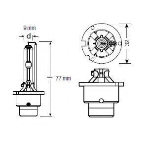 66240CB Крушка с нагреваема жичка, фар за дълги светлини OSRAM - опит