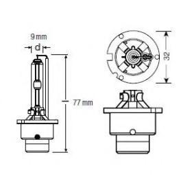 66240CB Glühlampe, Fernscheinwerfer OSRAM 66240CB - Große Auswahl - stark reduziert