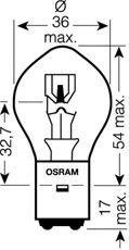 Fjernlyspære 7327 OSRAM Sikker — bare nye deler