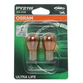 PY21W OSRAM ULTRA LIFE PY21W, BAU15s, 12V, 21W Glühlampe, Blinkleuchte 7507ULT-02B günstig kaufen