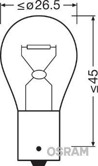 Original Blinkerslampa 7511 McLaren