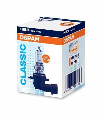 Крушка с нагреваема жичка, фар за дълги светлини 9005 от OSRAM