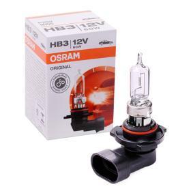HB3 OSRAM ORIGINAL 60W, HB3, 12V Glödlampa, fjärrstrålkastare 9005 köp lågt pris