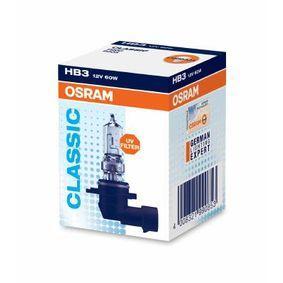 9005 Крушка с нагреваема жичка, фар за дълги светлини OSRAM Test