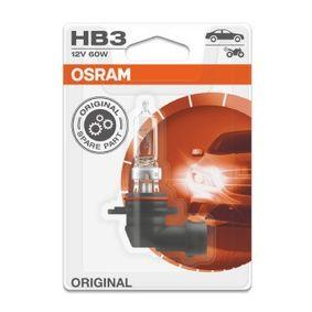 9005-01B Glödlampa, fjärrstrålkastare OSRAM - Billiga märkesvaror