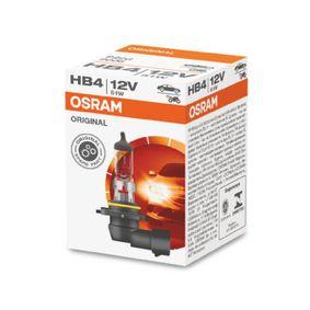 Glödlampa, fjärrstrålkastare 9006 från OSRAM