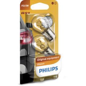 P215W PHILIPS P21/5W, BAY15d, 12V, 21/5W Glühlampe, Blinkleuchte 12499B2 günstig kaufen