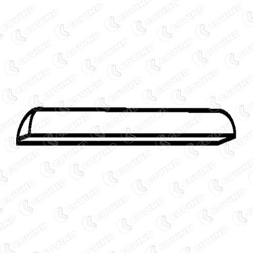 Skyltbelysning D06/520 COVIND — bara nya delar