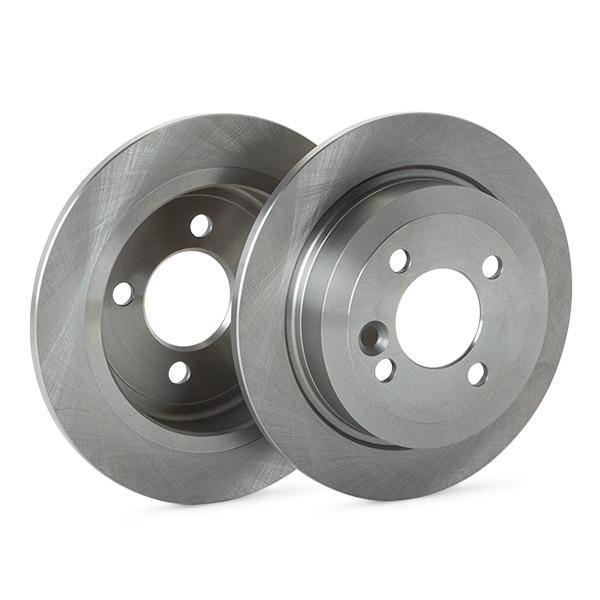 RIDEX: Original Bremsscheiben und Beläge 3405B0487 (Bremsscheibendicke: 10mm)