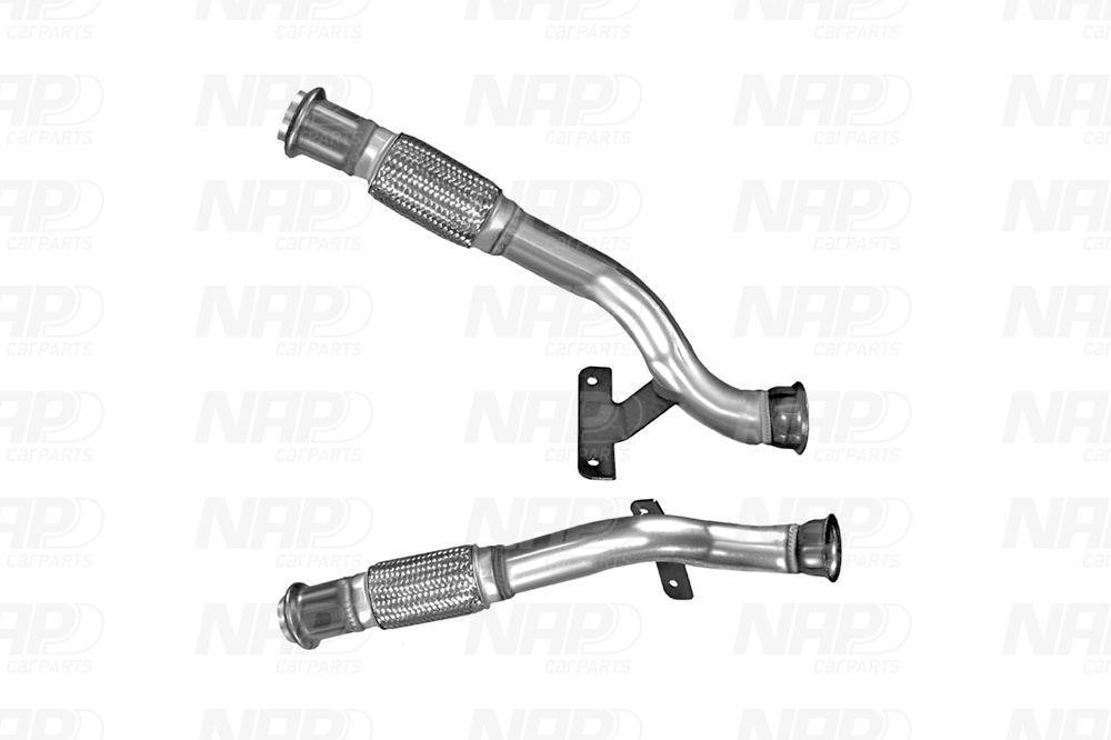 NAP carparts: Original Vorderrohr CAC10378 ()