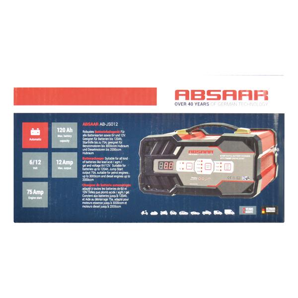 AB-JS012 Starthilfegerät Absaar - Markenprodukte billig