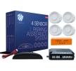 CP4W Pysäköintitutka Anturilla, asennusohjeella, Sensorien määrä: 4 M-TECH-merkiltä pienin hinnoin - osta nyt!