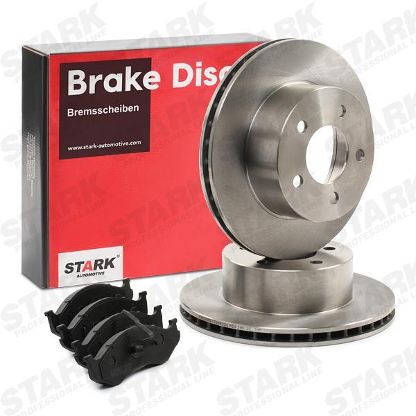JEEP WILLYS Bremsensatz - Original STARK SKBK-10991055 Bremsscheibendicke: 24mm
