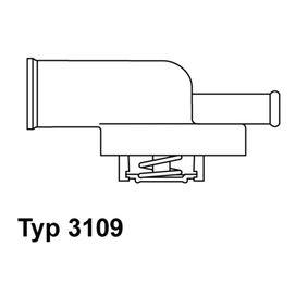 3109.82D WAHLER Öffnungstemperatur: 82°C, mit Dichtung Thermostat, Kühlmittel 3109.82D günstig kaufen