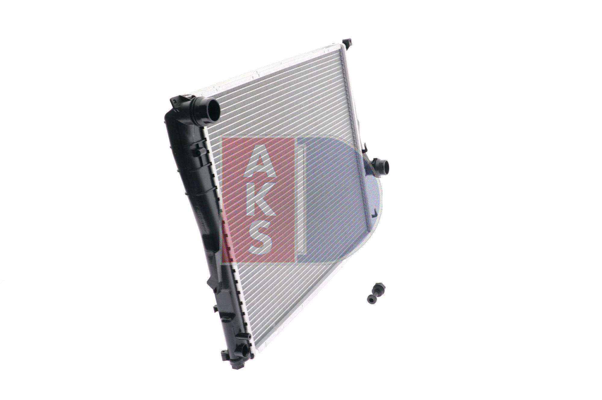 050004N Kühler, Motorkühlung AKS DASIS Test