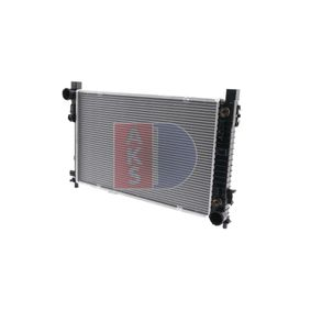 buy mercedes-benz c-class saloon (w203) radiator, engine cooling 121400n