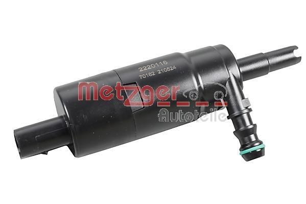 METZGER: Original Waschwasserpumpe, Scheinwerferreinigung 2220116 ()