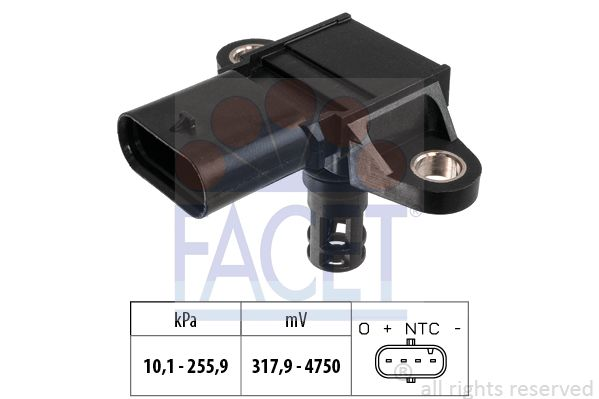 Ladedrucksensor FACET 10.3399
