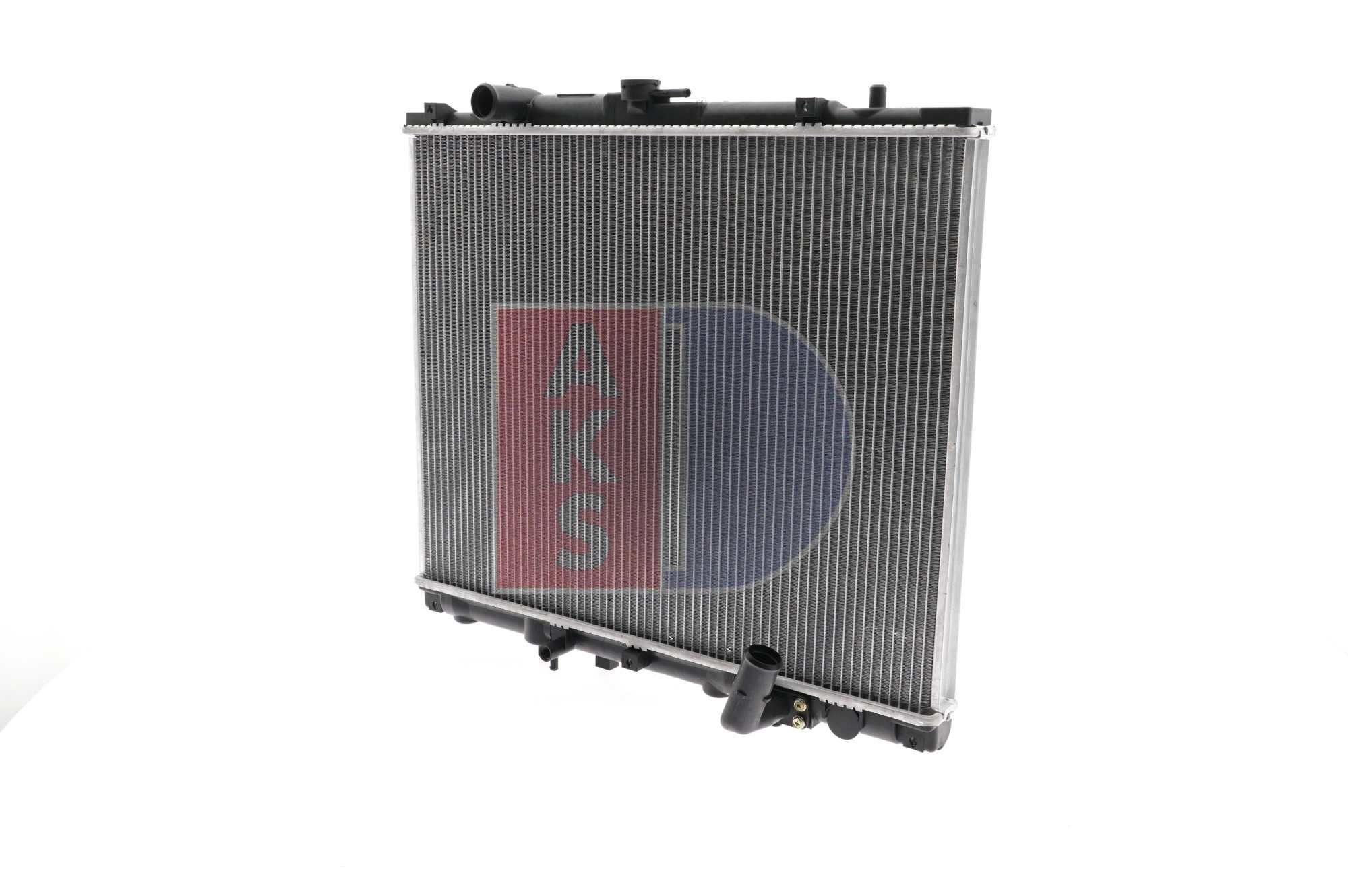 140017N AKS DASIS Kühlrippen gelötet Netzmaße: 500x639x36 Kühler, Motorkühlung 140017N günstig kaufen