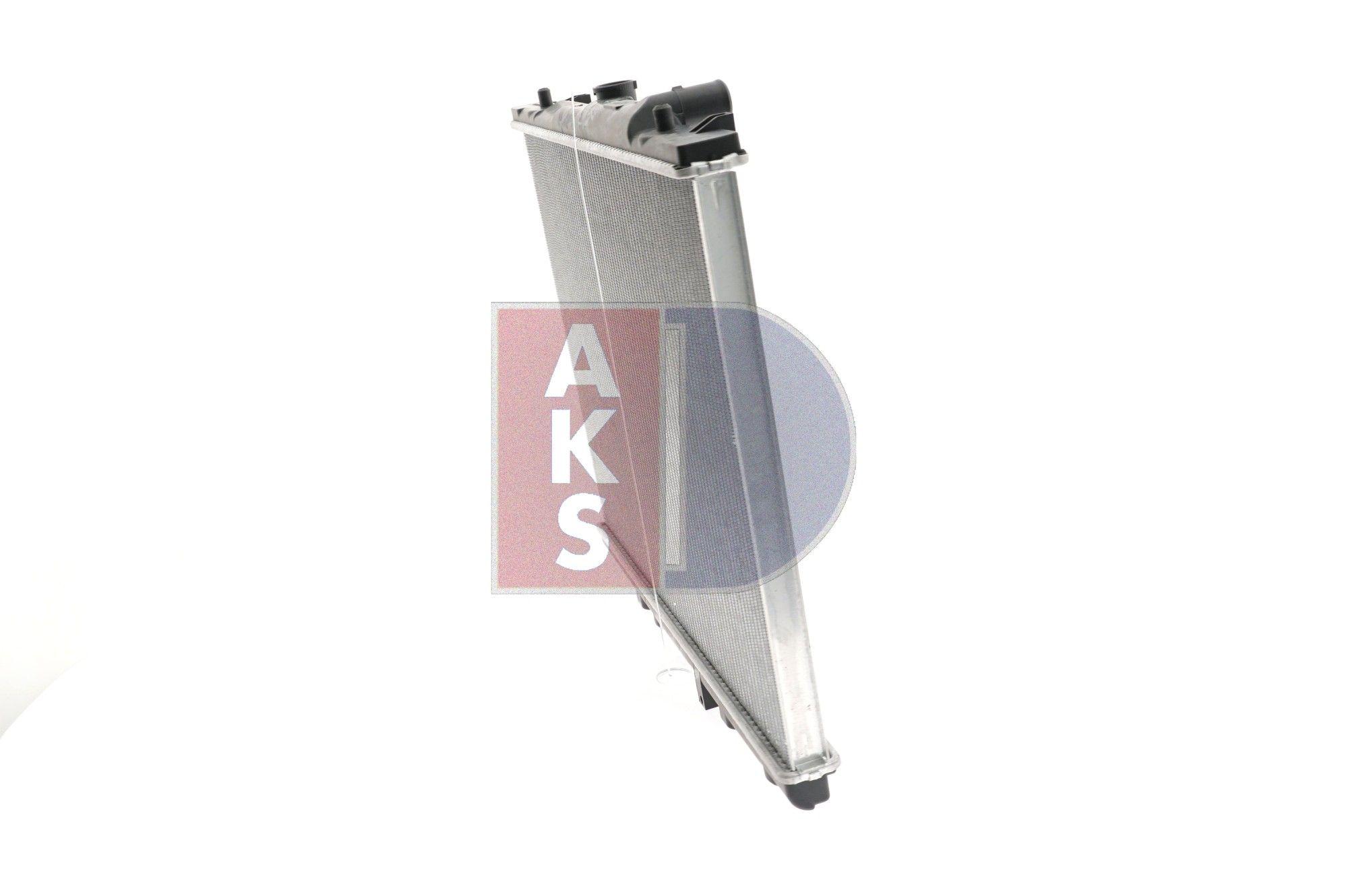 140017N Kühler Motorkühlung AKS DASIS in Original Qualität