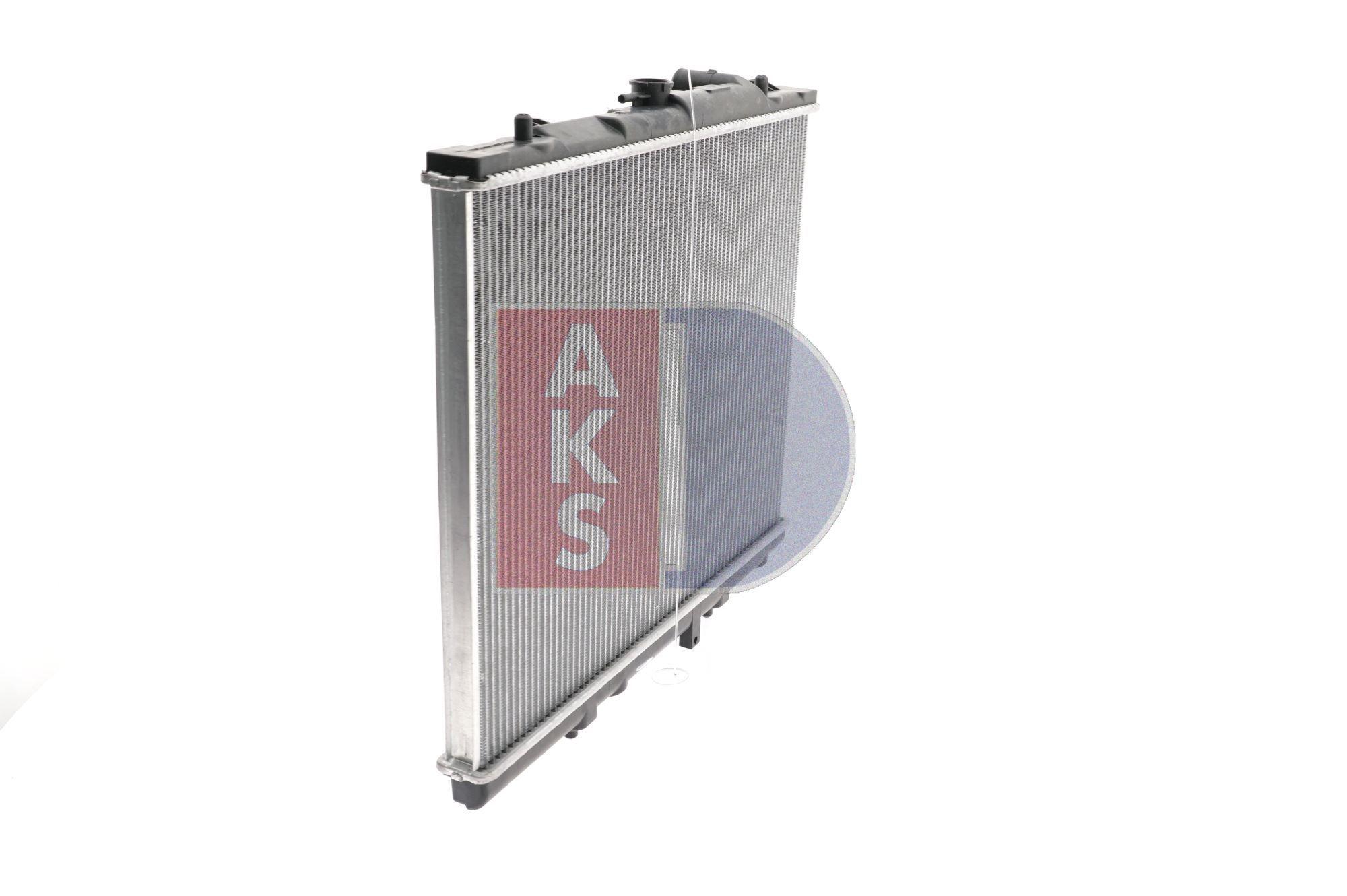 140017N Kühler, Motorkühlung AKS DASIS Test