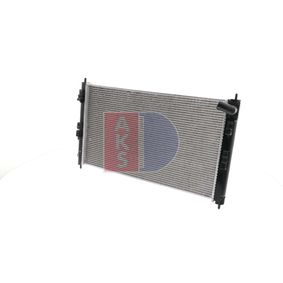 140093N AKS DASIS Netzmaße: 700x410x16 Kühler, Motorkühlung 140093N günstig kaufen