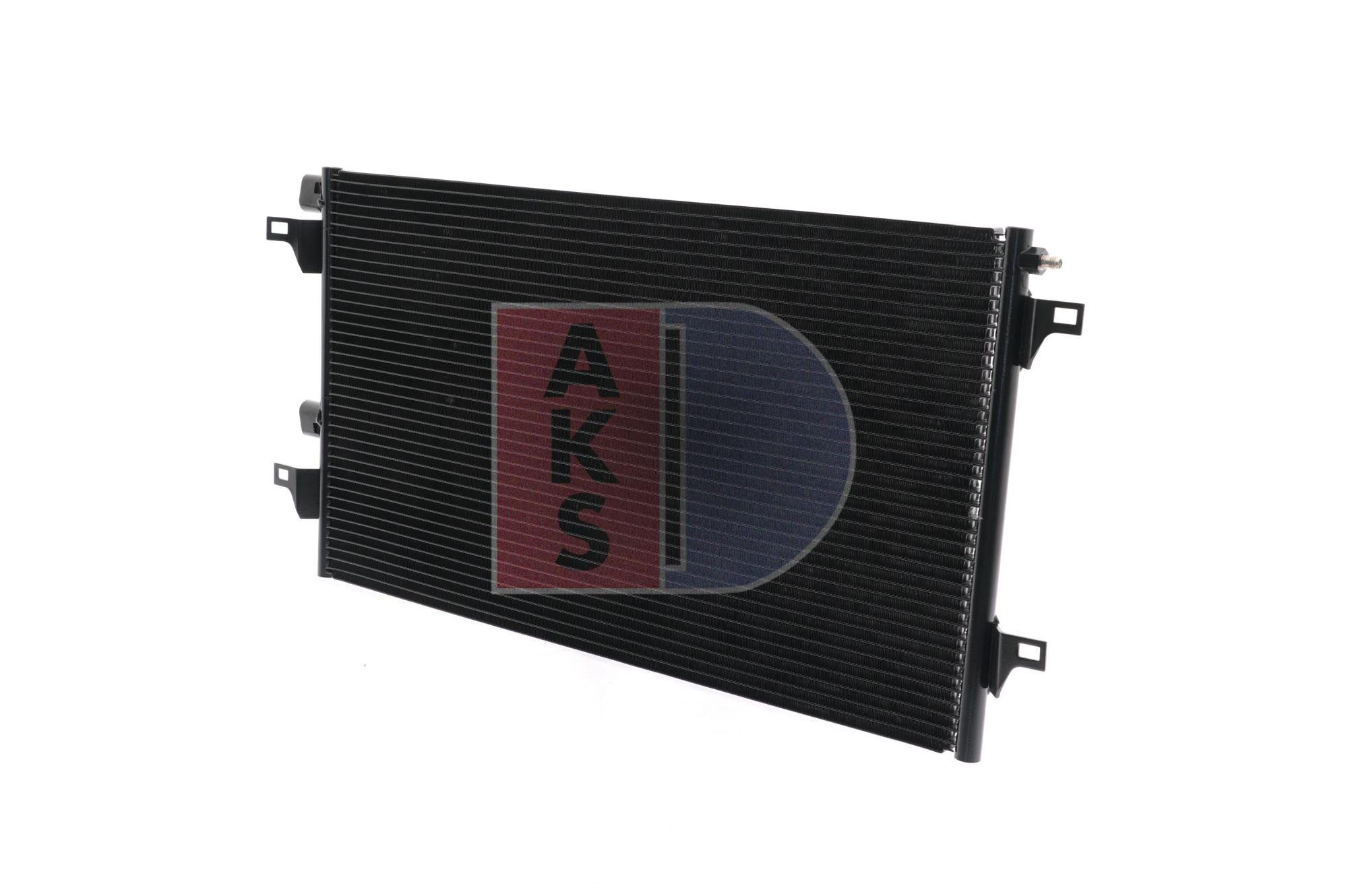 RENAULT VEL SATIS 2017 Klimakühler - Original AKS DASIS 182031N Netzmaße: 660x392x16