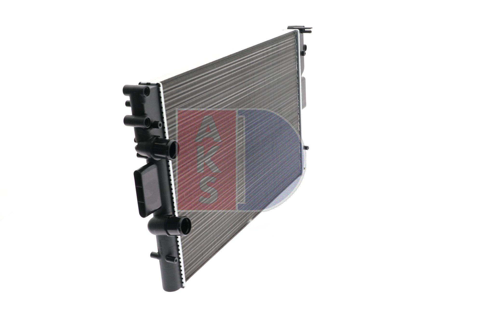 400037N Kühler, Motorkühlung AKS DASIS Test