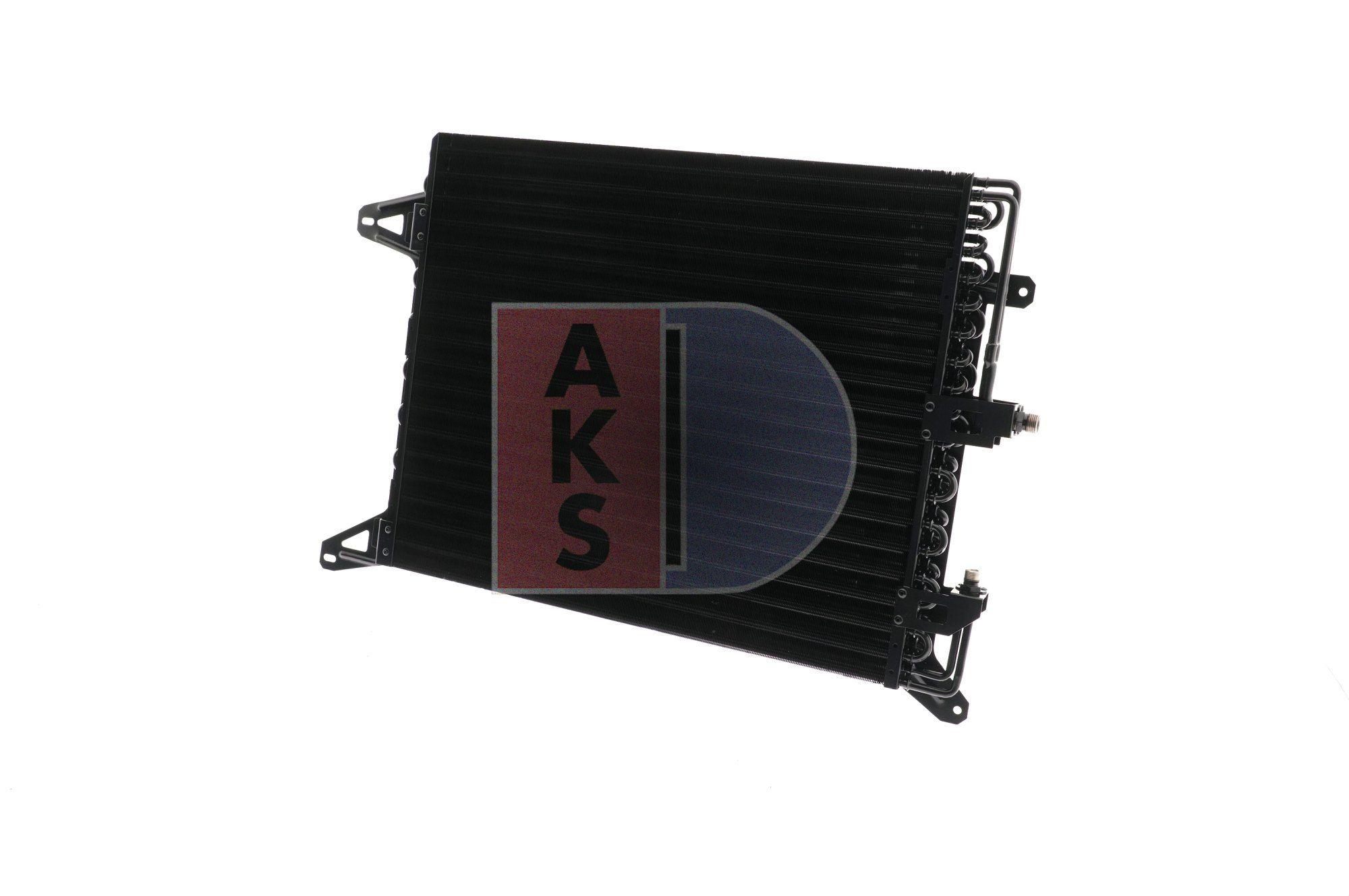 AKS DASIS Kondensor, klimatanläggning till IVECO - artikelnummer: 402500N