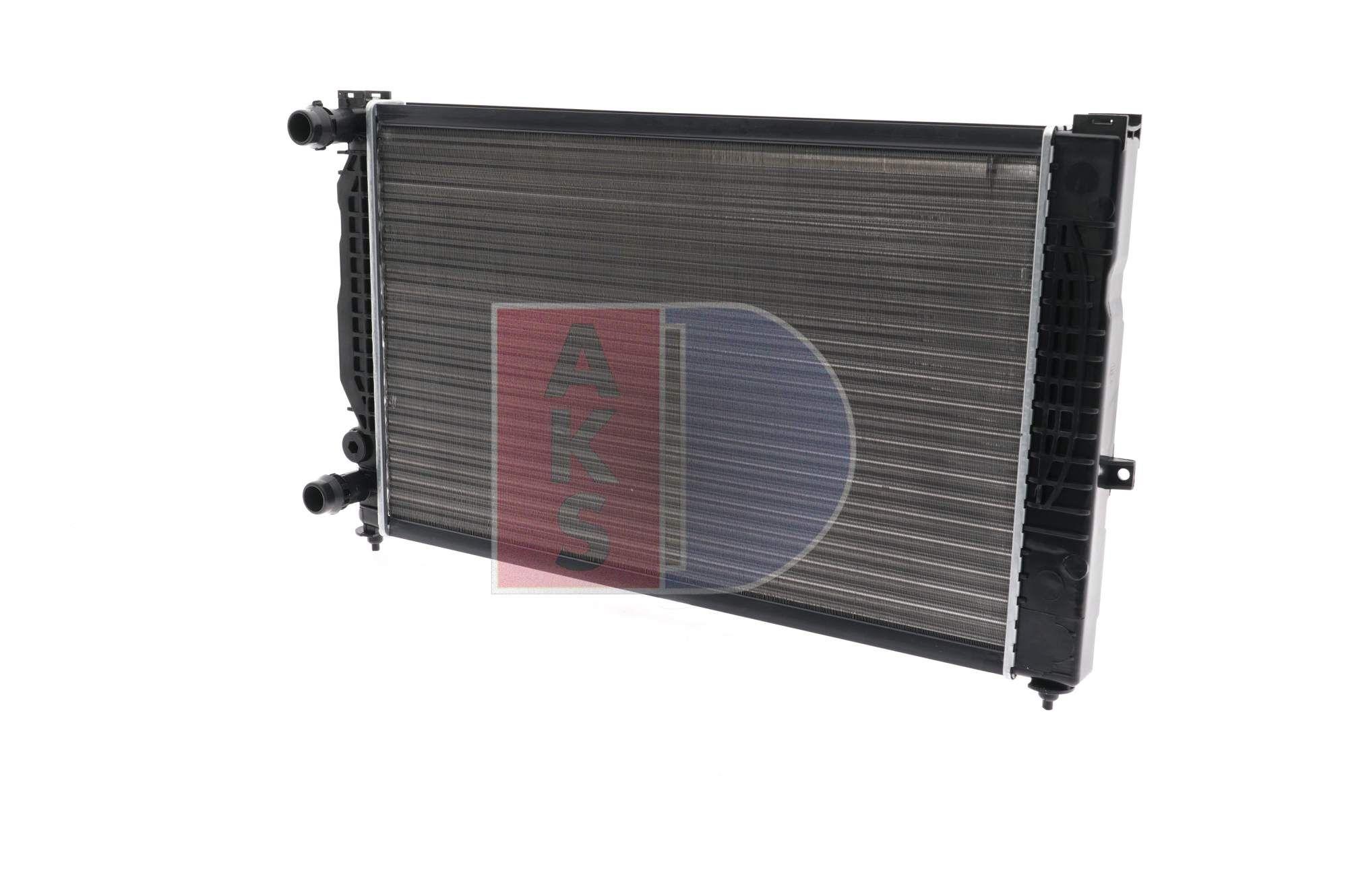 480390N AKS DASIS Kühlrippen mechanisch gefügt, Schaltgetriebe Netzmaße: 630x397x32 Kühler, Motorkühlung 480390N günstig kaufen