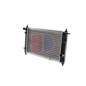 radiator, engine cooling 510170n with an exceptional aks dasis  price-performance ratio