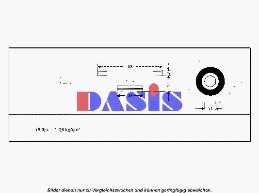 VW PASSAT 2008 Kühlerverschluss - Original AKS DASIS 751650N