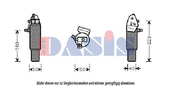 Achetez Bouteille deshydrateur clim AKS DASIS 802170N () à un rapport qualité-prix exceptionnel