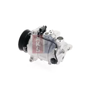 851658N AKS DASIS Riemenscheiben-Ø: 100mm Kompressor, Klimaanlage 851658N günstig kaufen