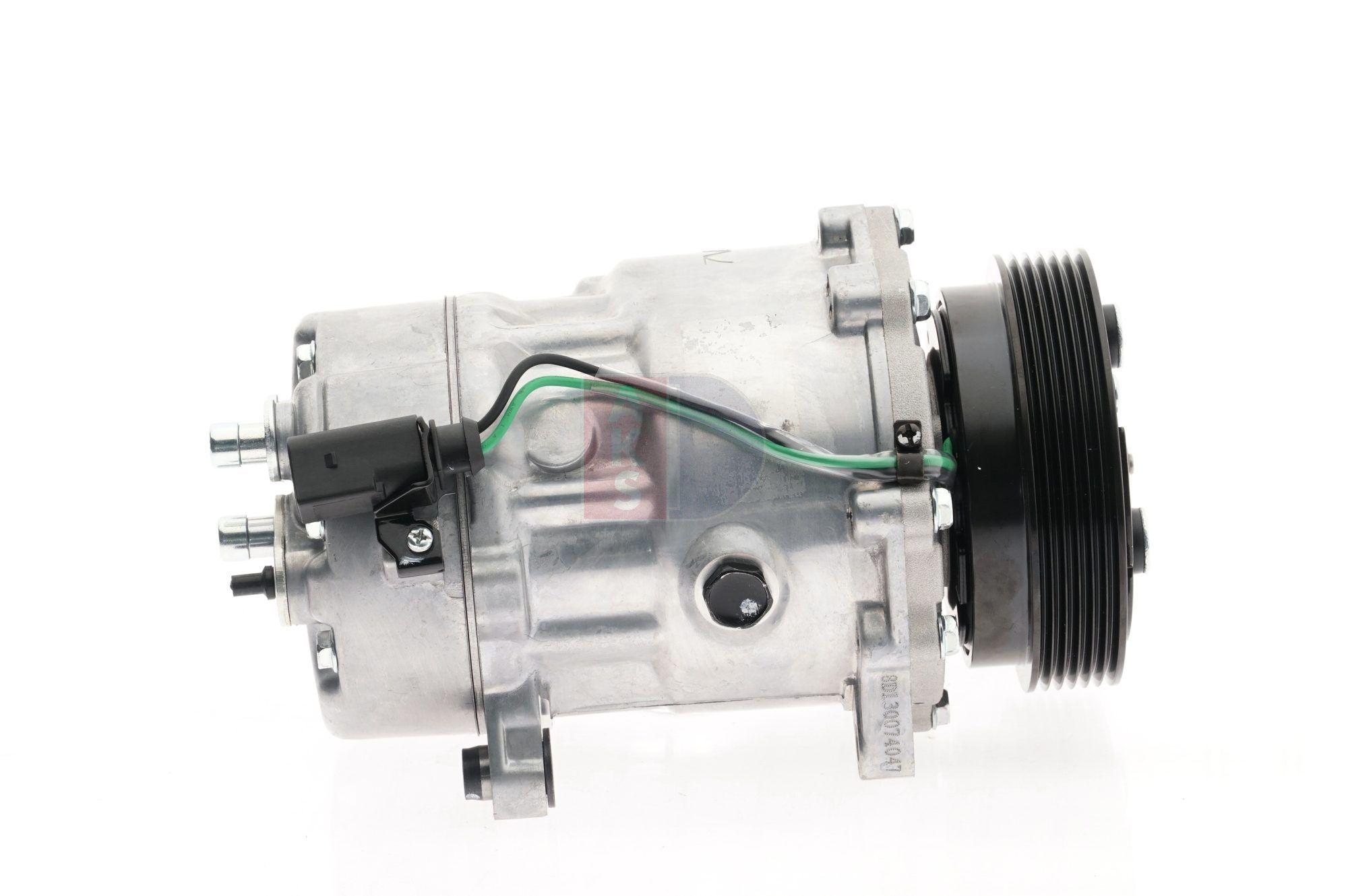 AKS DASIS: Original Kompressor Klimaanlage 851770N (Riemenscheiben-Ø: 120mm)