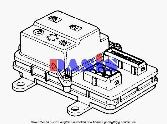 OE Original Relais, Klimaanlage 860046N AKS DASIS