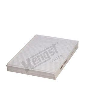 6772310000 HENGST FILTER Pollenfilter Breite: 194,0mm, Höhe: 31,0mm, Länge: 275,0mm Filter, Innenraumluft E2949LI günstig kaufen