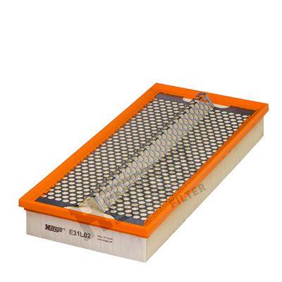 270310000 HENGST FILTER Filtereinsatz Länge: 380mm, Länge: 380mm, Breite: 171mm, Höhe: 58mm Luftfilter E31L02 günstig kaufen