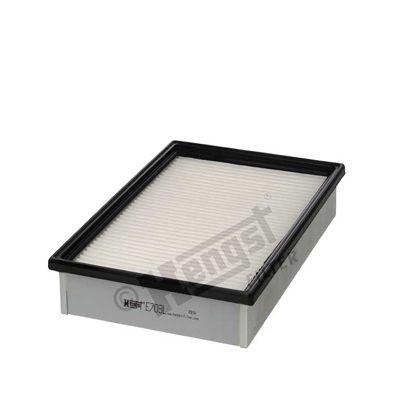 3853310000 HENGST FILTER Filtereinsatz Länge: 306mm, Länge: 306mm, Breite: 198mm, Höhe: 58mm Luftfilter E703L günstig kaufen