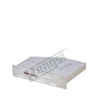 Köp HENGST FILTER E998LI - Värme / ventilation till Volkswagen: Kupéluftsfilter B: 213mm, H: 58mm, L: 271mm