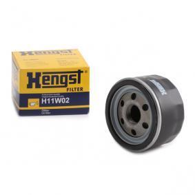 Купете HENGST FILTER навиващ филтър Ø: 76,0мм, височина: 50,0мм Маслен филтър H11W02 евтино