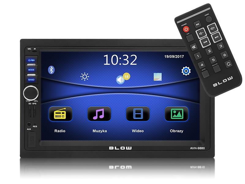 78-220# BLOW AVH-9880 7in, 2 DIN, 4x50W Pantalla para coche 78-220# a buen precio