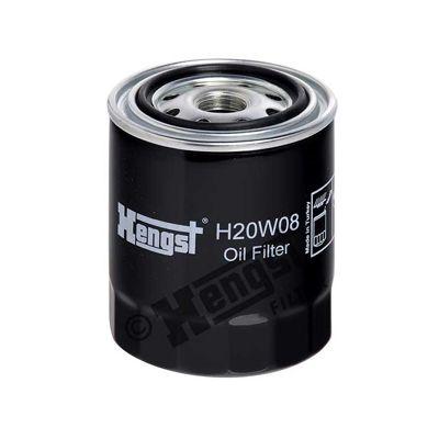 INFINITI Q45 2018 Ölfilter - Original HENGST FILTER H20W08 Ø: 81mm, Höhe: 102mm
