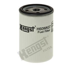 Kraftstofffilter HENGST FILTER H60WK07 mit 33% Rabatt kaufen