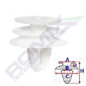 MAZDA MX-5 2012 Befestigungsmaterial - Original ROMIX B23159