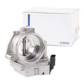 Steuerklappe Luftversorgung VDO A2C59511699