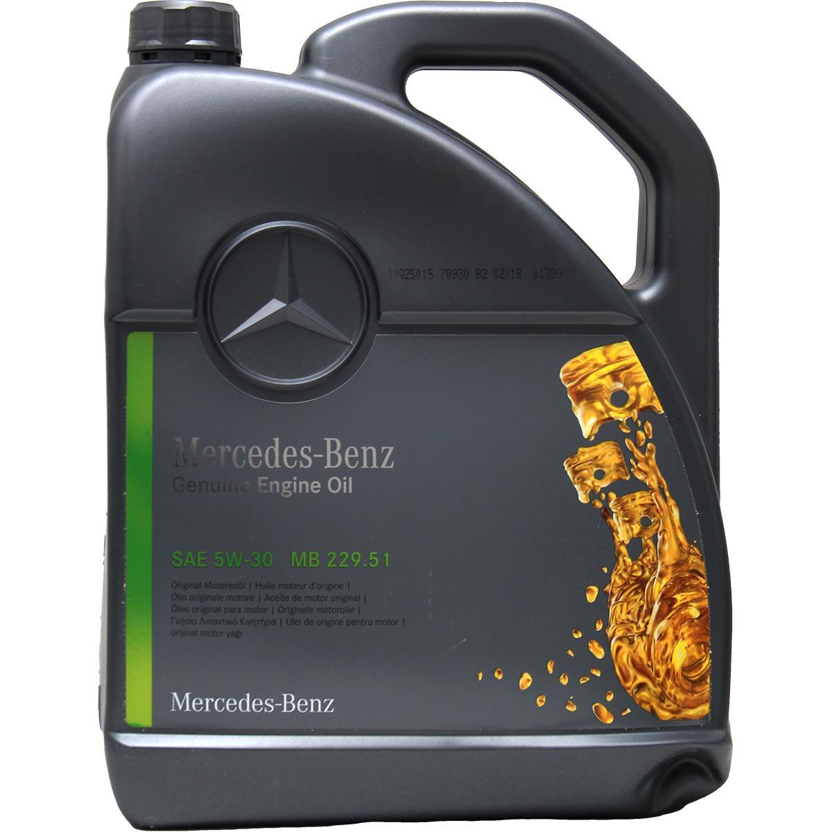 Motorenöl Mercedes-Benz A000989940213ALEE