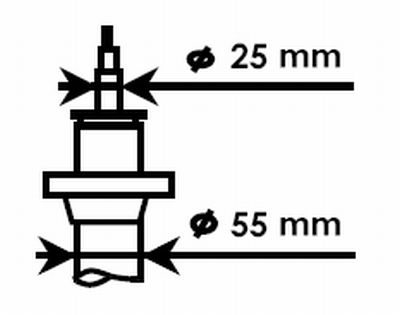 325700 Stoßdämpfer Satz KYB - Markenprodukte billig